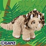 Webkinz Plush Stuffed Animal Triceratops