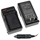 Brand New Bp-208, Bp-308, Bp-315 Battery Home Travel Charger with Car Adapter for Canon Digital Camera & Camcorder