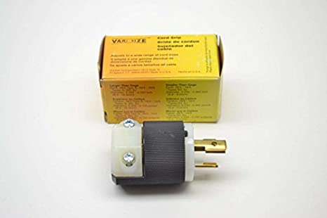 Amazon.com: 1- HUBBELL HBL4570C CONNECTOR, POWER ENTRY, PLUG, 15A: Industrial & Scientific