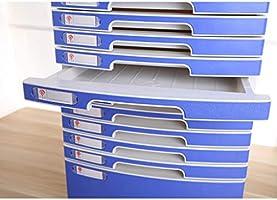 Amazon Com Fpigshs Boite De Rangement Pour Classeurs Mobilier De Bureau Coffret D Archives Bureau En Plastique A 10 Etages Avec Serrure Type De Tiroir Haute Capacite Fichiers A4 Home Kitchen