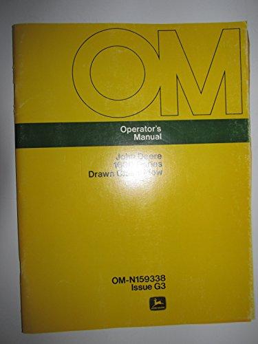 Series Chisel Plow (John Deere 1600 Series Drawn Chisel Plow Operators Owners Manual Original OM-N159338)