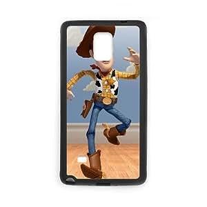 Samsung Galaxy Note 4 Black phone case Sheriff Woody YYF4351539