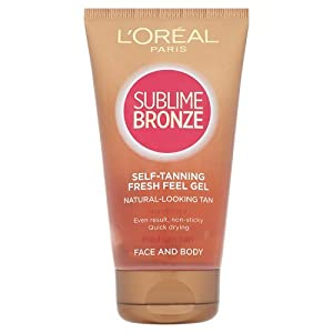 L'oreal Sublime Bronze Self Tanning Fresh Feel Gel 150ml