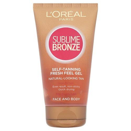 L'Oreal Sublime Bronze Selbstbräuner Gesicht und Körper - Nicht Fettig 150ml