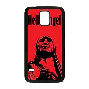 Alta resolución infierno DE Cartel del ángel Samsung Galaxy S5 caja del teléfono celular funda Negro caja del teléfono celular Funda Cubierta EEECBCAAJ78114