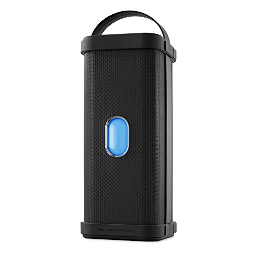 Innovative Technology Portable Weatherproof Bluetooth Speaker with Adjustable Carrying Handle