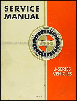 1962-1964 Jeep Gladiator & Wagoneer Repair Shop Manual Original