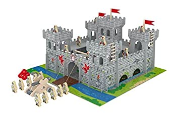 Chad Valley Wooden Castle With Accessories By Unknown Amazoncouk