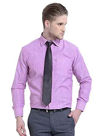 AXE Striped Shirt for Men - Purple