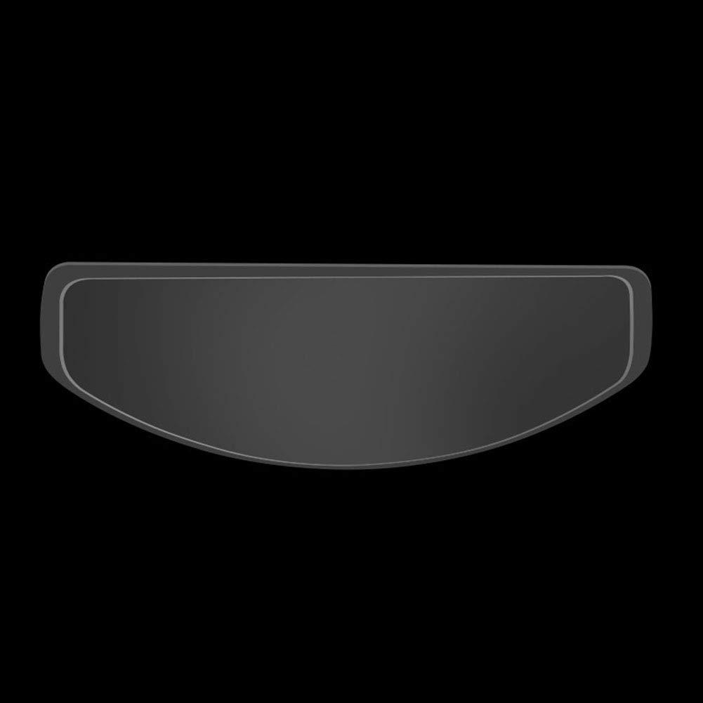 Visi/ère int/égrale Utilisation Facile Protection UV Taille Unique Voir Image Universel Ultra Transparent Anti-bu/ée SAXTEL Film de Protection pour Casque de Moto