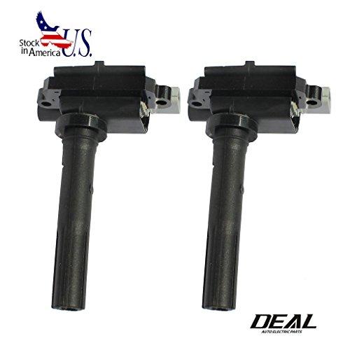 Deal Set of 2 New Ignition Coil Plug Pack For 99-01 Chevrolet Metro 1.3L 99-00 Tracker 1.6L 99-01 Suzuki Swift 1.3L 99-02 Vitara 1.6L L4 UF268