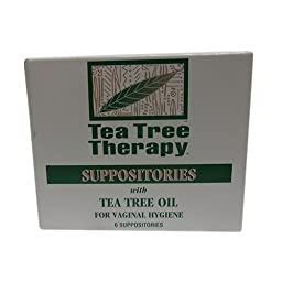 Tea Tree Suppository Tea Tree Therapy (2-Pack of 6)