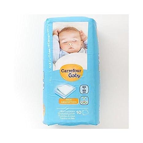 Carrefour Esteras Colchón Bebé 60X90Cm 10 Por Paquete - Paquete de 2: Amazon.es: Bebé