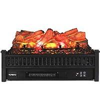 TURBRO Eternal Flame Fireplace Logs Heat...
