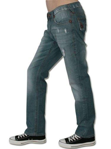LAGUNA BEACH JEANS CO. Herren Jeans Hose - PHANTOM HUNTINGTON BEACH -38