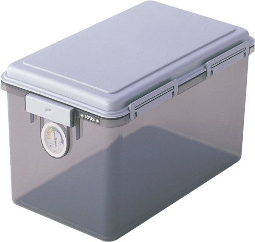 Nakabayashi shut out moisture capacity Royalty dry box 27L gray DB-27L-N (japan import)