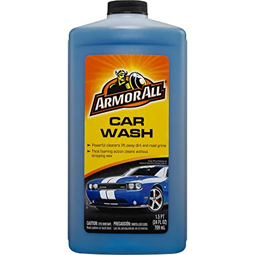 Armor All Car Wash Formula, Cleaning Concentrate for Cars, Truck, Motorcycle, Bottles, 17738, 24 Ounce