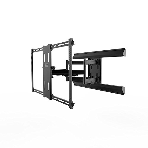 "Kanto - Tilting Tv Wall Mount For Most 39"" - 80"" Tvs - Exten"