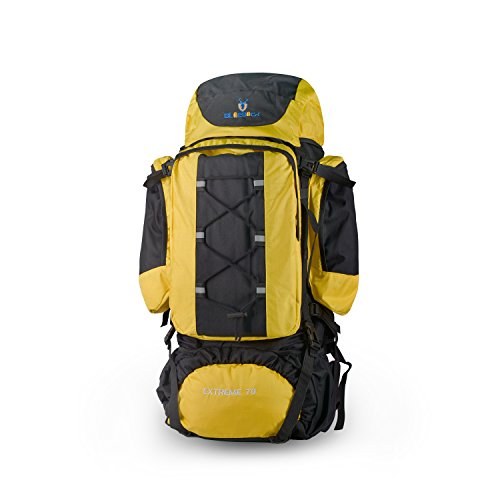 Vovoly Hiking Backpack Sports Outdoor Traveling Bag Lightweight Packable Durable Travel Backpack 80L