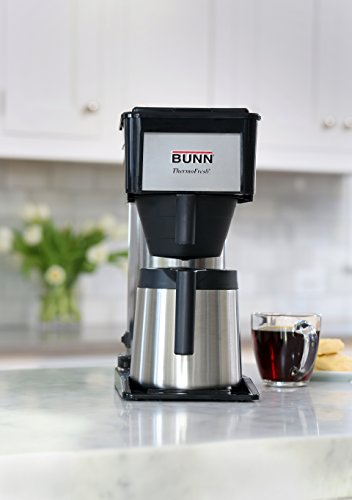 Bunn Coffee Maker High Altitude : BUNN BTX-B(D) ThermoFresh High Altitude 10-Cup Home Thermal Carafe Coffee Brewer, Black - Coffee ...
