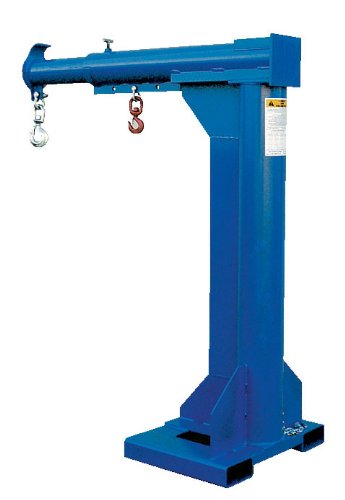 """Bear Claw Non-Telescoping Forklift Boom - BLM-HRNT Series; Description: High-Rise Boom; Overall Height: 79""""; Extended Length: 51""""; Forkpocket Centers: 24""""; Capacity (LBS): 6,000"""