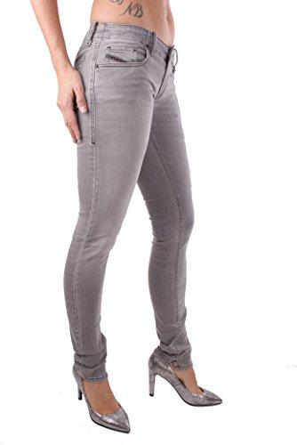 Mesdames 0R50G Diesel Slim Pantalon Jeans Grupee Skinny Gris v8nawaqx