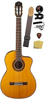 TAKAMINE gc5ce-nat guitarra electroacústica clásica Cutaway ...