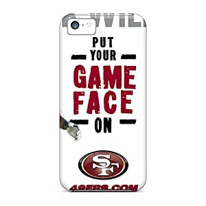 Tpu Case Cover For Iphone 5c Strong Protect Case - San Francisco 49ers Design