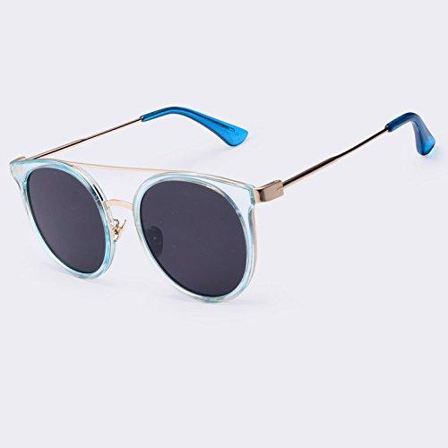 Gafas sol UV400 C04 de gafas alta C04 Gafas revestimiento sol aleación de de piernas en TIANLIANG04 redonda Vintage Ponte calidad Doppio U7SfyHcT