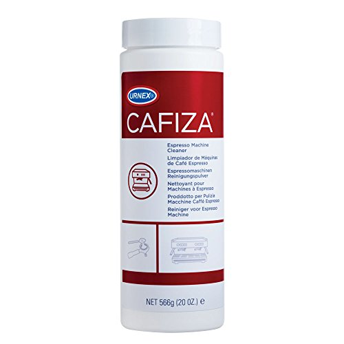 Urnex Cafiza Professional Espresso Machine Cleaning Powder 566 grams Plastic Distributor Head