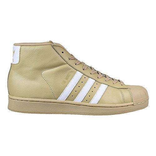 Adidas Pro Model Men's Shoes Khaki/White/Metallic Gold cg...