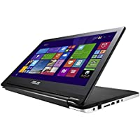 ASUS Flip 15.6-Inch 2-in-1 Convertible Touchscreen Laptop (Core i3/500GB HDD/4GB RAM) Silver