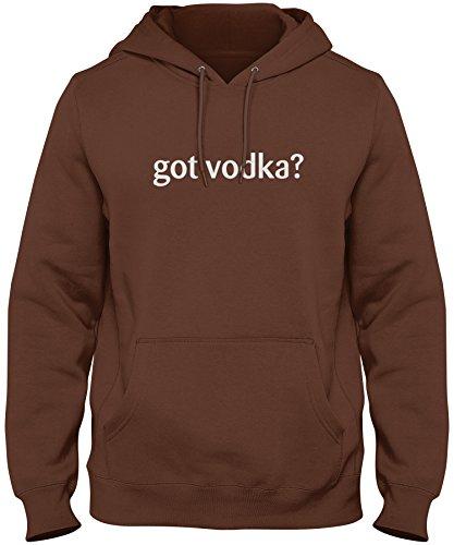 Milk Chocolate Vodka (ShirtLoco Men's Got Vodka Hoodie Sweatshirt, Chocolate 3XL)