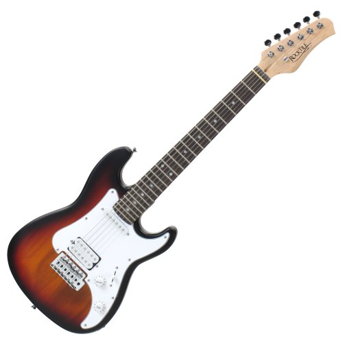 Rocktile Sphere - Guitarra eléctrica infantil, 3/4, color negro: Amazon.es: Instrumentos musicales