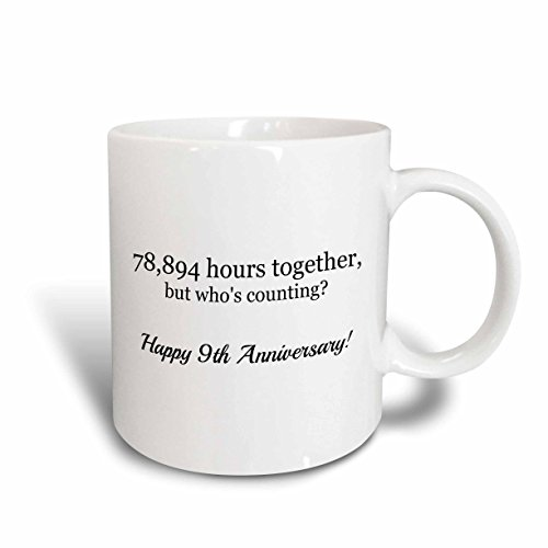 3dRose mug 224654 2 Anniversary together Ceramic