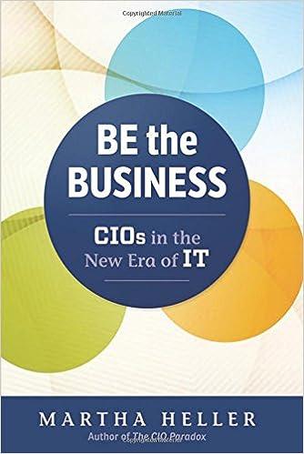 Be the business cios in the new era of it martha heller be the business cios in the new era of it martha heller 9781629561325 amazon books solutioingenieria Choice Image