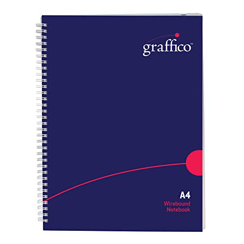 Graffico Twin Wire Polypropylene A4 Notebook 140 Pages ()