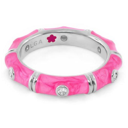 Lauren Adams Pink Stackable Ring