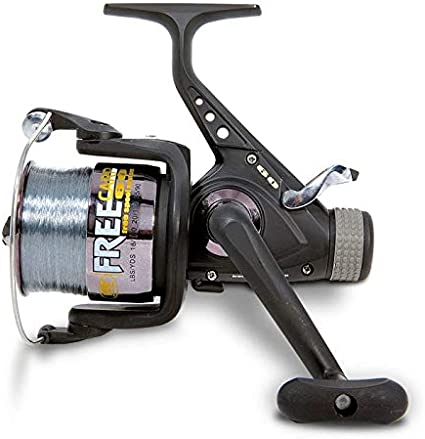 Lineaeffe Coarse /& Carp Fishing Tackle Feeder Reel with Line /& Spare Spool