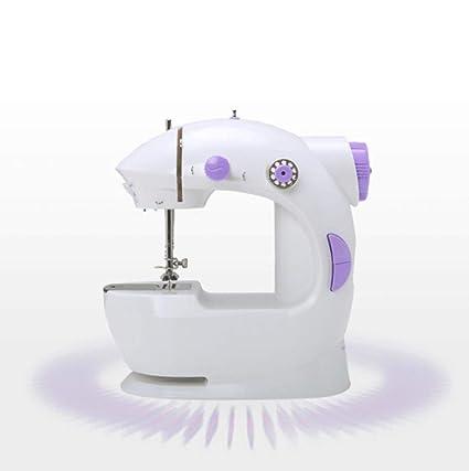 GSKTY Casa multifunción Miniatura máquina de Coser eléctrica 10 * 20 * 19 cm