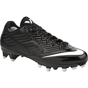 Nike Mens Vapor Speed Low TD Football Cleat Black/White Size 9 M US