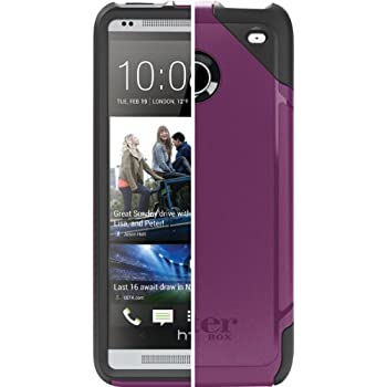 OtterBox 77-26429 Commuter Series Hybrid Case for HTC One (M7 ONLY - Not for M8 or M9) - 1 Pack - Retail Packaging - Lilac (Discontinued by Manufacturer)