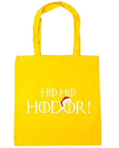 De Algodón Mujer Amarillo Bolsa Hippowarehouse Playa 6wqxP5F