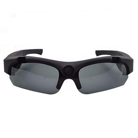 OOLIFENG Vidrios De La Cámara Espía 1080P, HD Gafas Ocultas con Gran Angular Mini Cámara