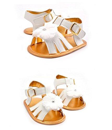 Ohmais Enfants Chaussure Bebe Garcon Fille Premier Pas Chaussure premier pas bébé Sandale en tissu souple