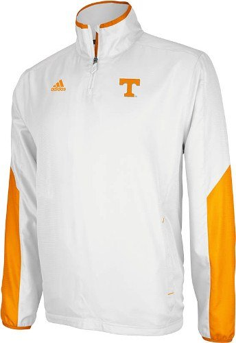 - Tennessee 2012 Sideline 1/4 Zip Pullover Hot Jacket - Small
