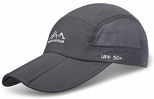joseni-outdoor-quick-dry-sun-hat-folding-portable-unisex-uv-spf-50-baseball-cap-a-grey