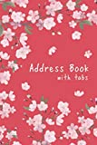 Address Book with Tabs: 4x6 Mini Contact Notebook