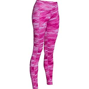 Women's Under Armour ColdGear Cozy Leggings Pink/Silver Size X-Small