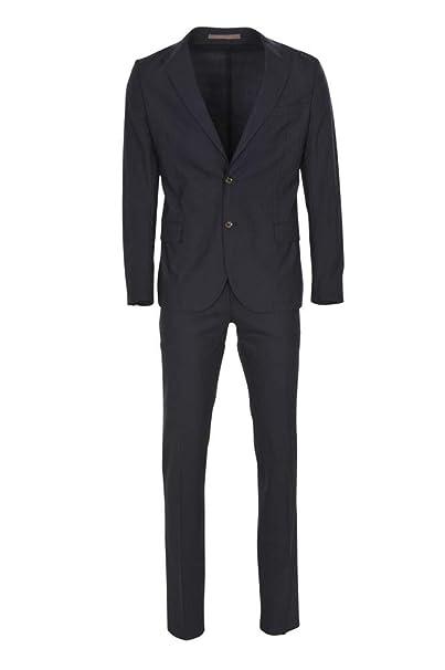 Eleventy Traje Hombre Azul Oscuro Blazer- Pantalón Azul ...